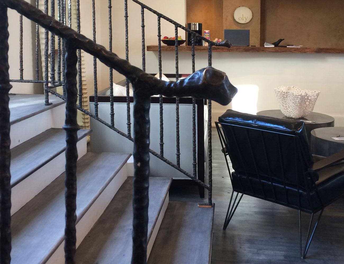 Дизайн лестниц в эксклюзивных интерьерах КП «Миллениум Парк», «Золотой мили» и «Москва Сити». Фото 02